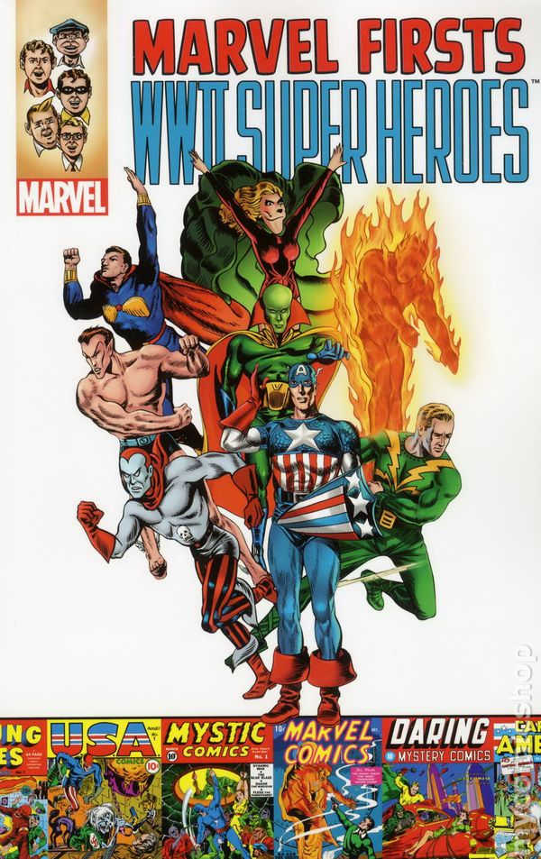 Comic Books In Marvel Firsts Tpb