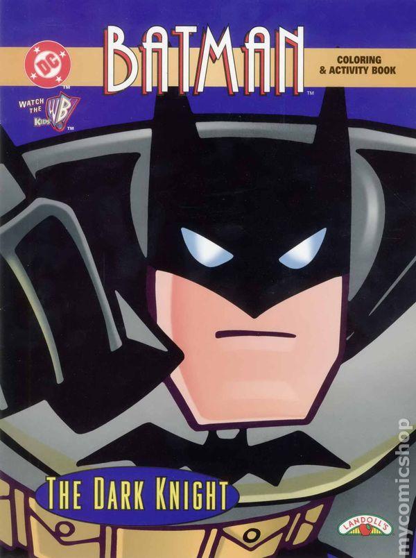 Batman Coloring And Activity Book SC 1998 Landolls The Dark Knight 1 1ST
