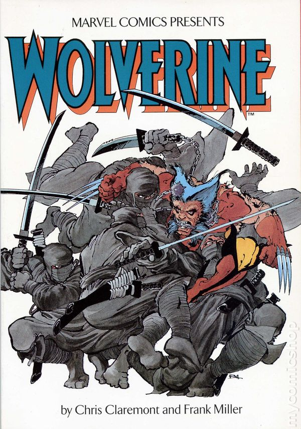 Wolverine TPB (1987 Marvel) 1st Edition By Chris Claremont and Frank Miller  comic books