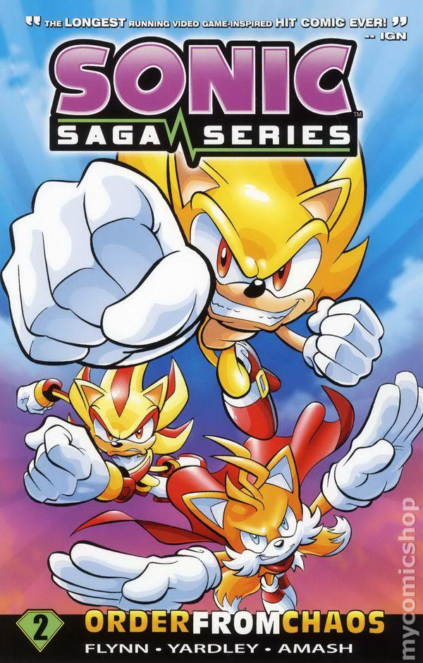 sonic saga series tpb 2012 archie comic books