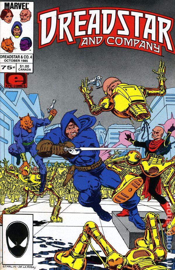dreadstar and company  1985 epic  comic books