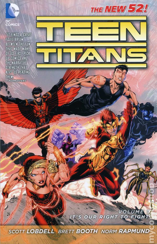 Teen Titans Tpb 2012-2015 Dc Comics The New 52 Comic Books