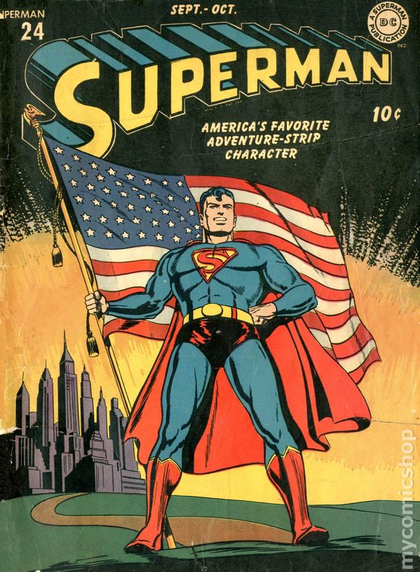 superman  1939 1st series  comic books 1955 or before