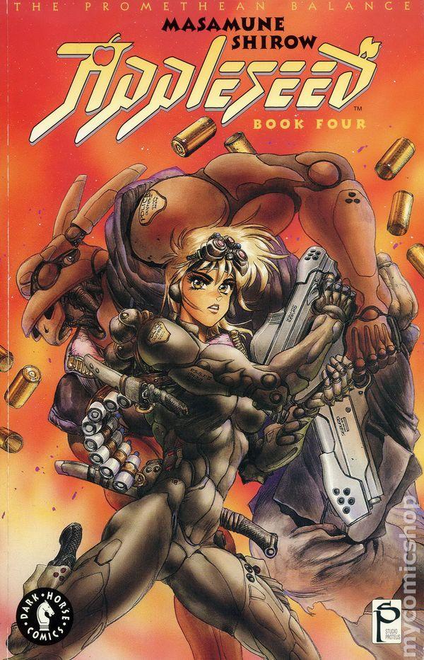 Appleseed Tpb 1990 1993 Eclipse Dark Horse 1st Edition Comic Books