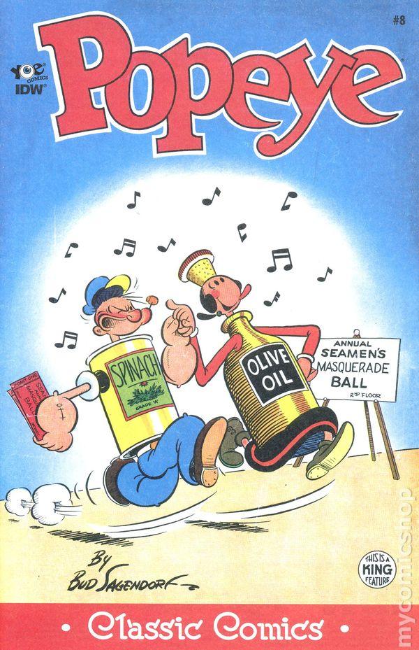 Classic Popeye #26 NM 2014 Stock Image