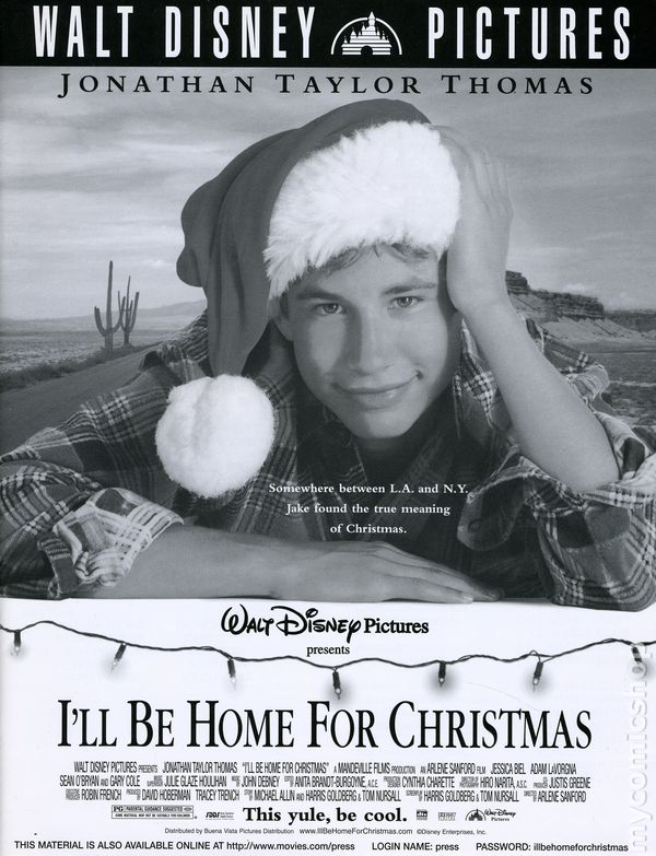ill be home for christmas promotional media book 1998 comic books - Who Wrote I Ll Be Home For Christmas