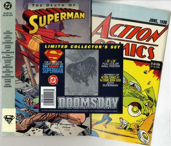 superman dies comic book 1993