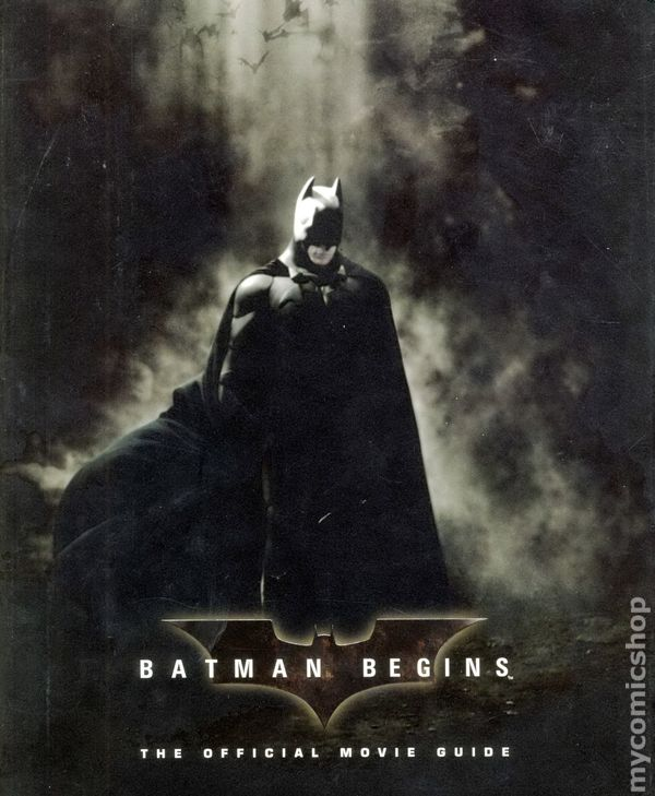 Batman begins the official movie guide hc 2005 comic books voltagebd Image collections
