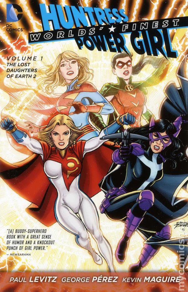 worlds finest tpb 2013 2015 dc comics the new 52 huntress power