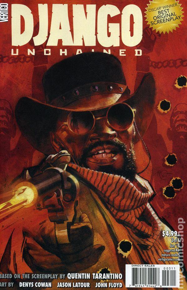 django unchained comic book release date