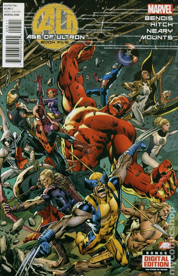 What If Age of Ultron #5B VF 2014 Stock Image