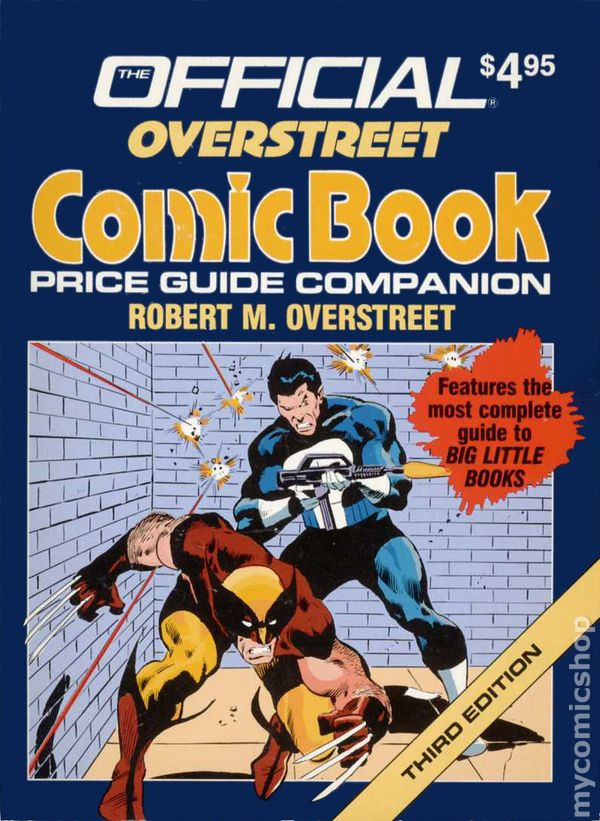 official overstreet comic book price guide companion sc 1989 3rd rh mycomicshop com overstreet comic guide 47 overstreet comic book price guide 47