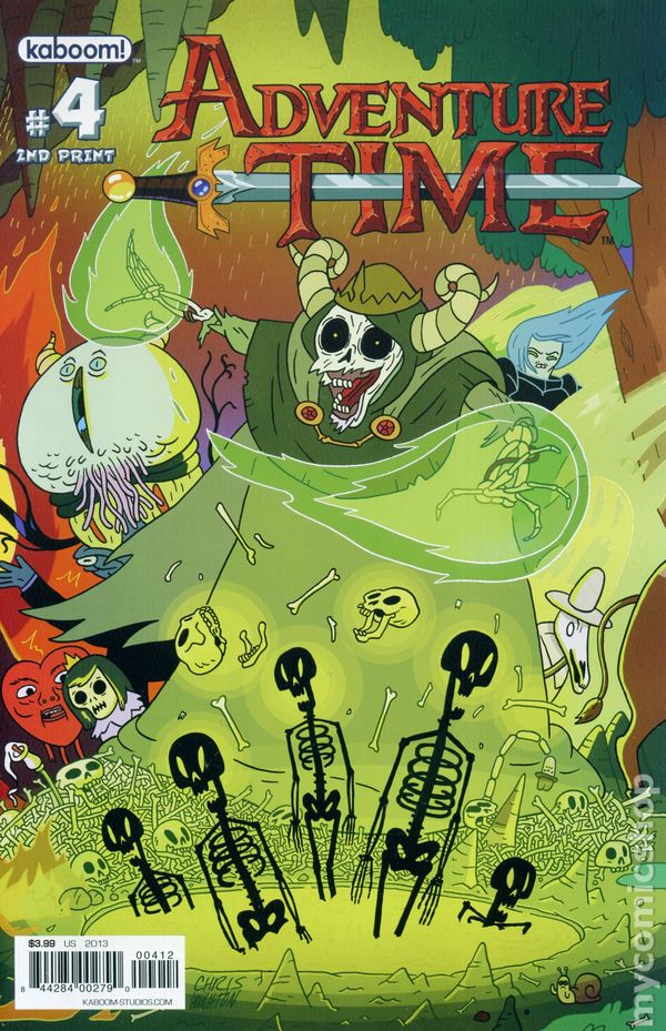 Adventure Time 2012 Kaboom Comic Books
