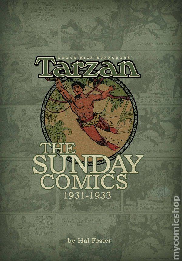 Tarzan The Sunday Comics 1931-1933 HC (2013 Dark Horse) Edgar Rice Burroughs comic books