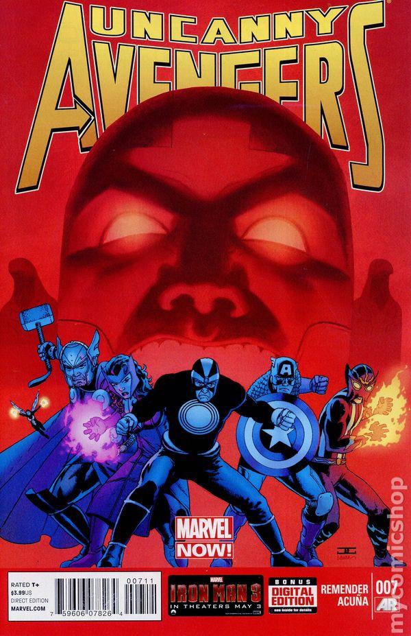 2012 Series 9.2 #8AU July 2013 Marvel NM Uncanny Avengers
