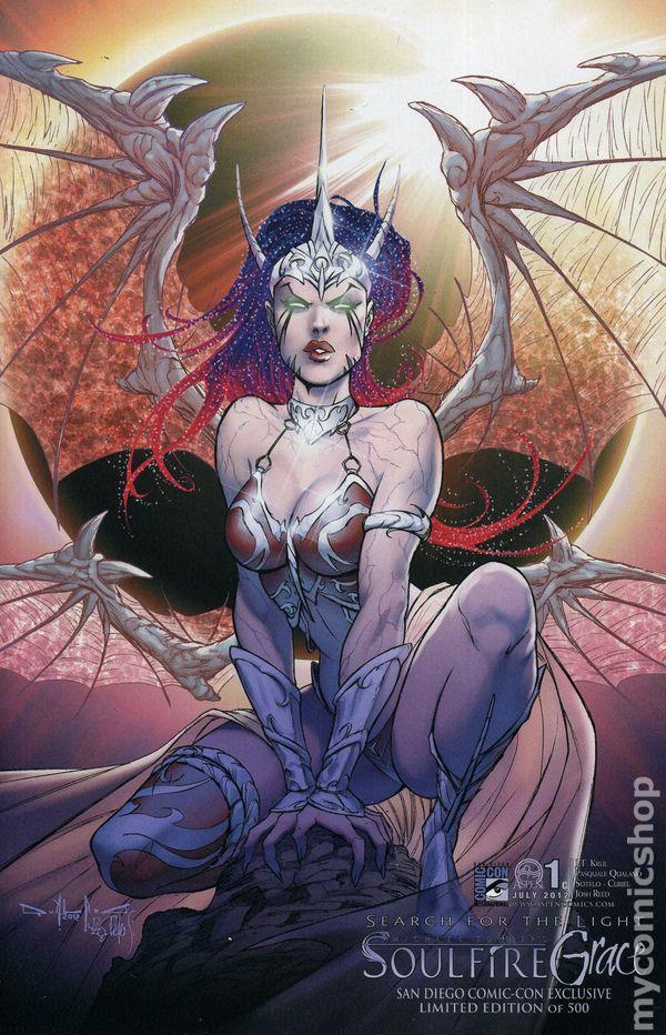 SNEAK PEEK: Soulfire: GRACE — Major Spoilers—Comic Book Reviews ...