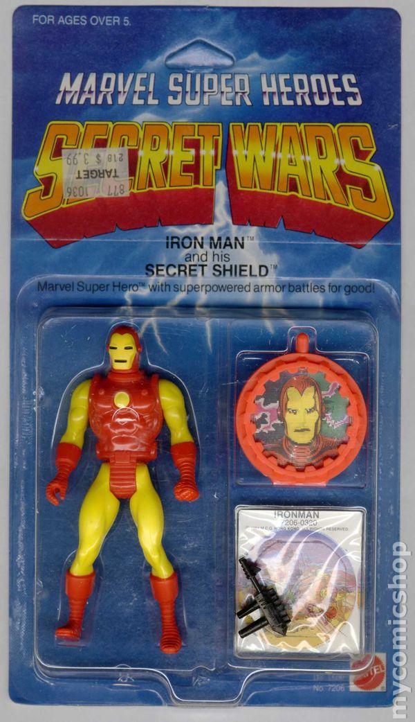 Marvel Super Heroes Secret Wars Action Figure 1984 Comic