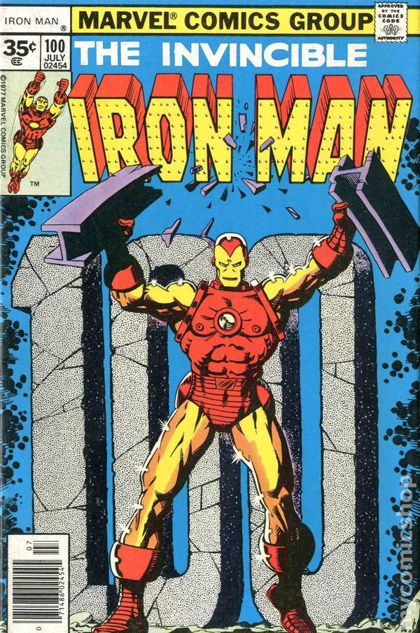 iron man 1968 1st series 35 cent variant comic books