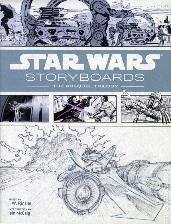 Star Wars Storyboards The Prequel Trilogy Hc  Abrams Comic Books