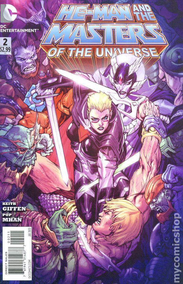 DC Comics 2013 HE-MAN and MASTERS OF THE UNIVERSE #15 NM SHE-RA ORIGIN Bag/Board