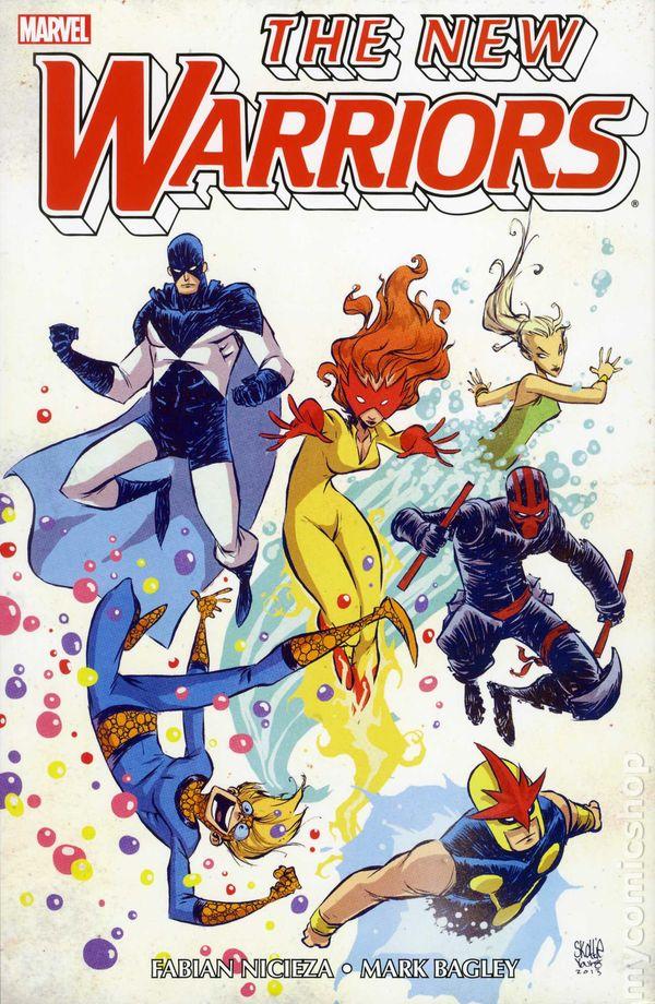 new warriors omnibus hc 2013 marvel comic books