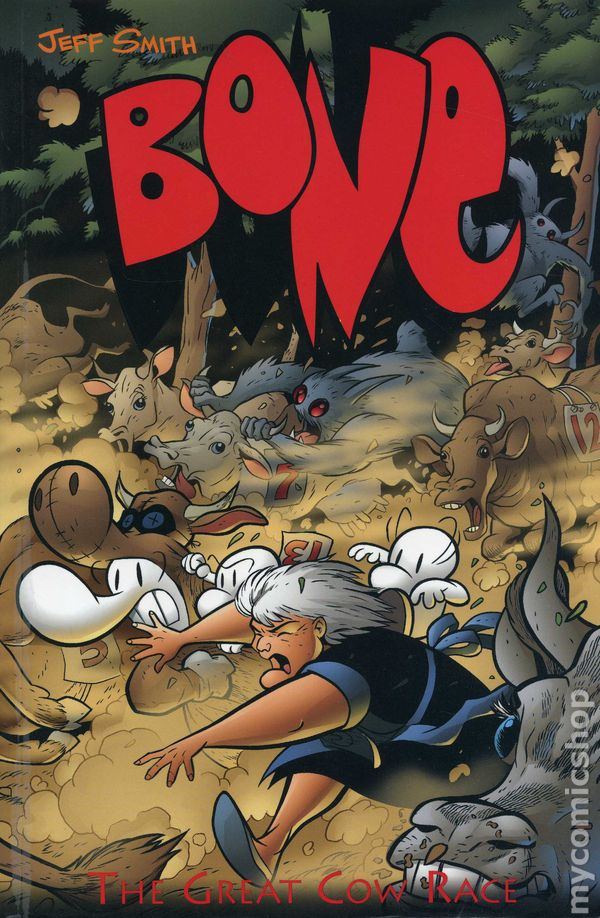 Bone Tpb 1996 2004 Cartoon Books B Amp W Edition Comic Books