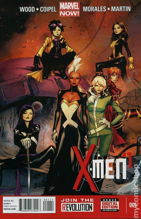 Amazing X-Men #1 Blank Variant Comic Book 2013 NOW Marvel
