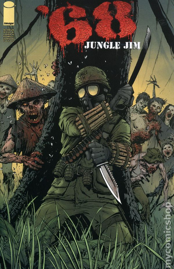 68 jungle jim 2011 image comic books