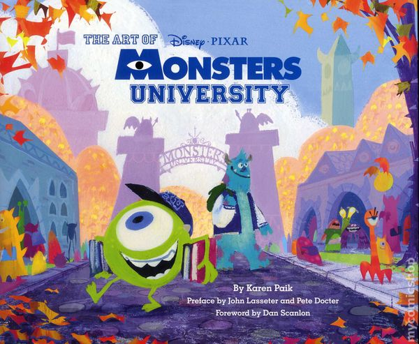 Art Of Monsters University Hc 2013 Chonicle Books Disney