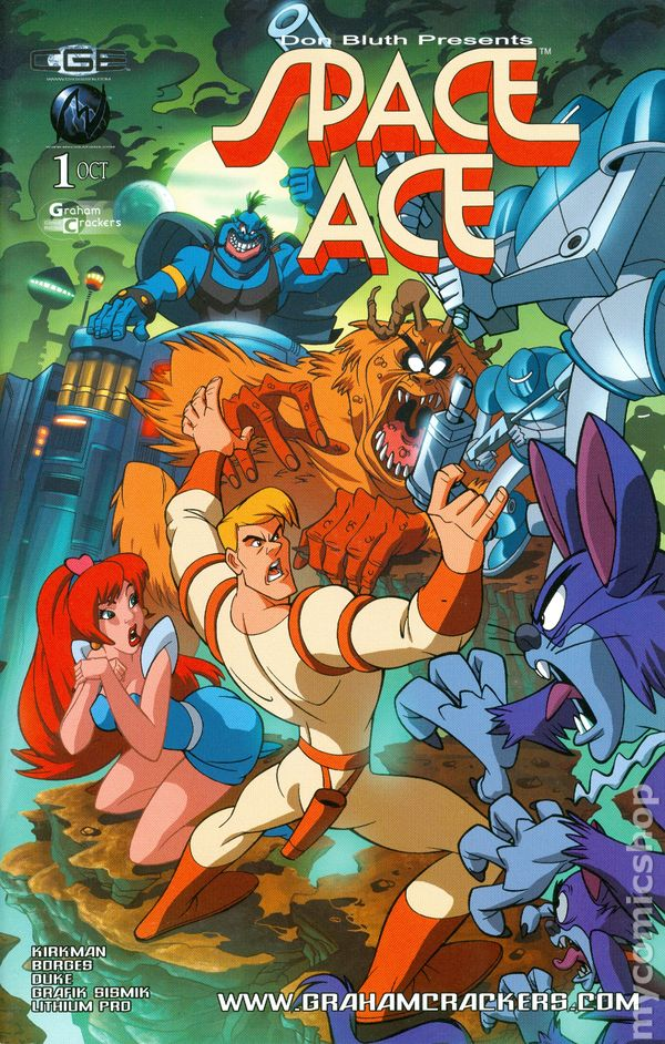 Space Ace Defender Of The Universe 2003 Comic Books