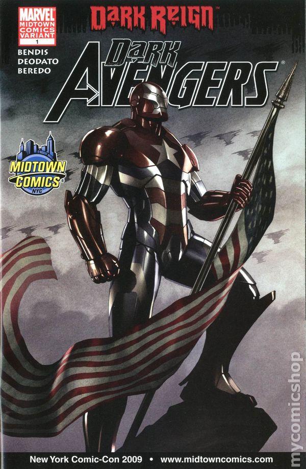 dark avengers 2009 marvel comic books