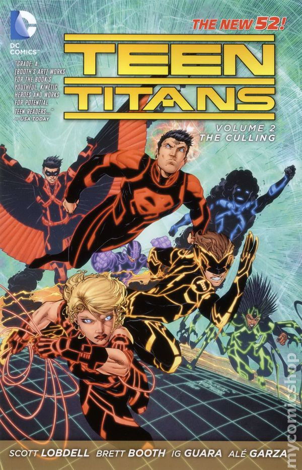 Teen titans dc comic question