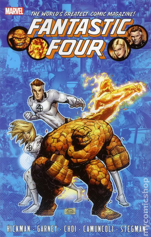 Fantastic Four TPB By James Robinson #4-1ST NM 2015 Stock Image