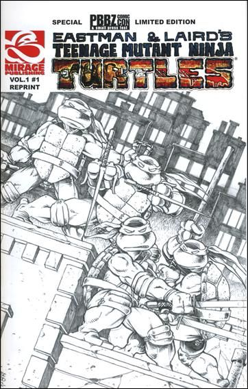 teenage mutant ninja turtles 1984 magazine comic books