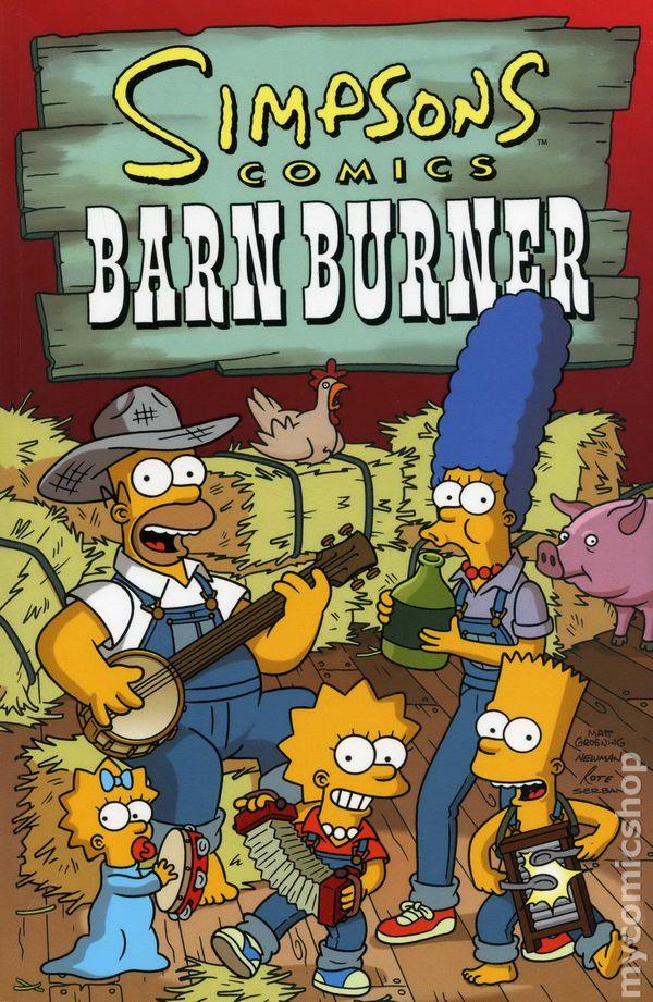Simpsons Comics Barn Burner TPB (2005) comic books