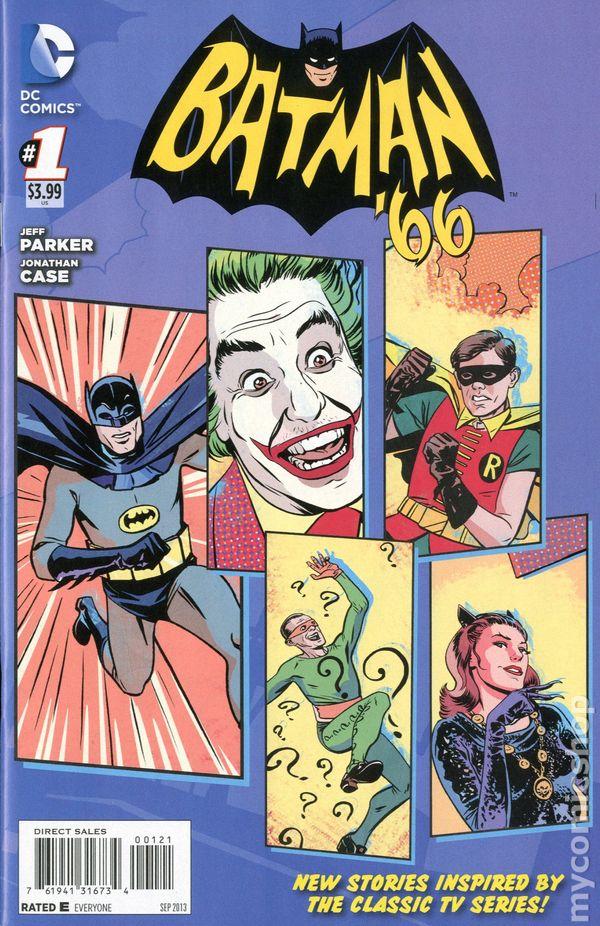 DC Comics BATMAN /'66 #16 first printing