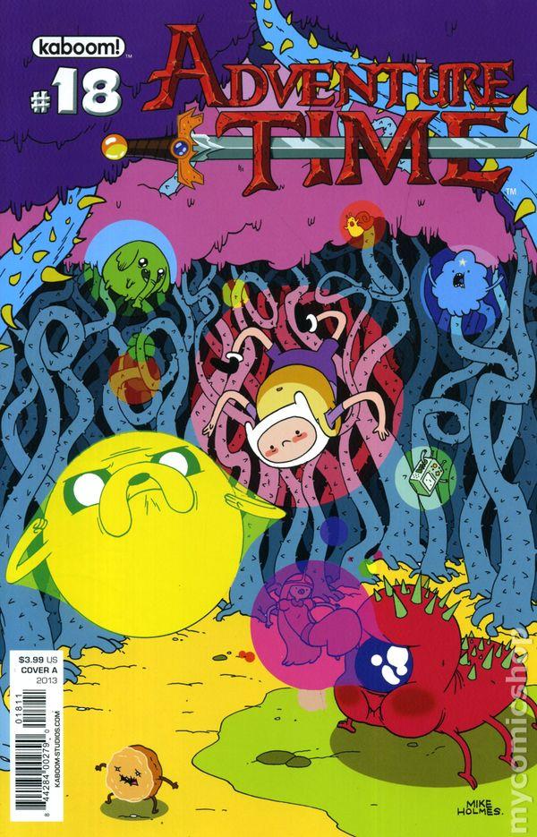 Adventure Time #18B 2013 NM Stock Image Kaboom