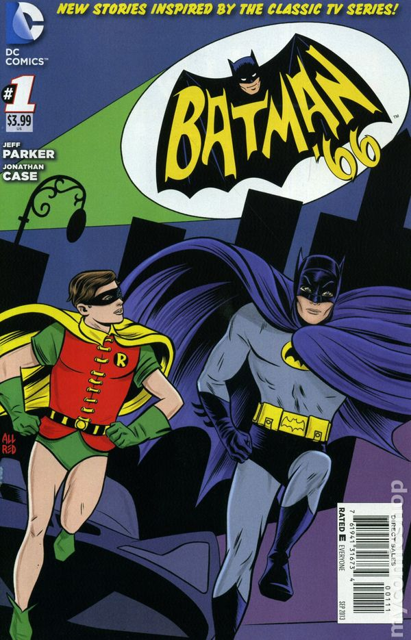 Batman '66 (2013 DC) comic books Batman Comic Cover Wallpaper
