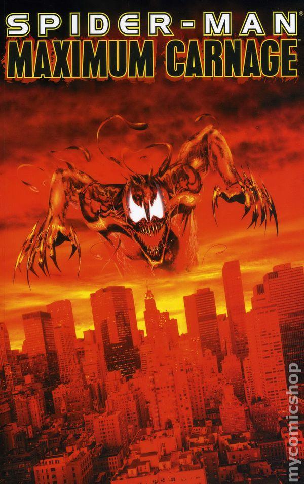 Spider Man Maximum Carnage Tpb 1994 Marvel Comic Books