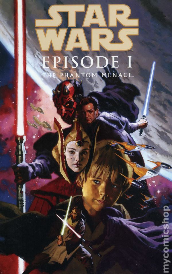 STAR WARS EPISODE I ANAKIN SKYWALKER #1-4 1999 COMPLETE SET NEAR MINT