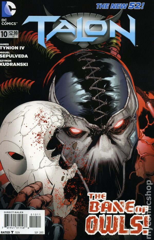 2012 DC Comics New 52 Talon #0