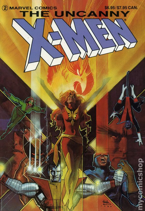 Uncanny X Men The Dark Phoenix Saga Tpb 1984 Marvel 1st Edition