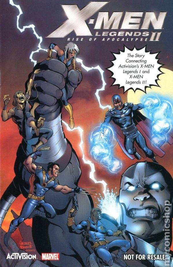 X Men Legends II Rise Of Apocalypse 2005 Activision NN