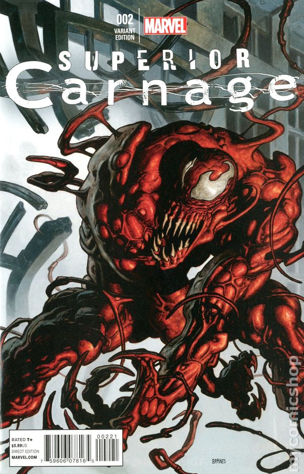 superior carnage 2013 comic books