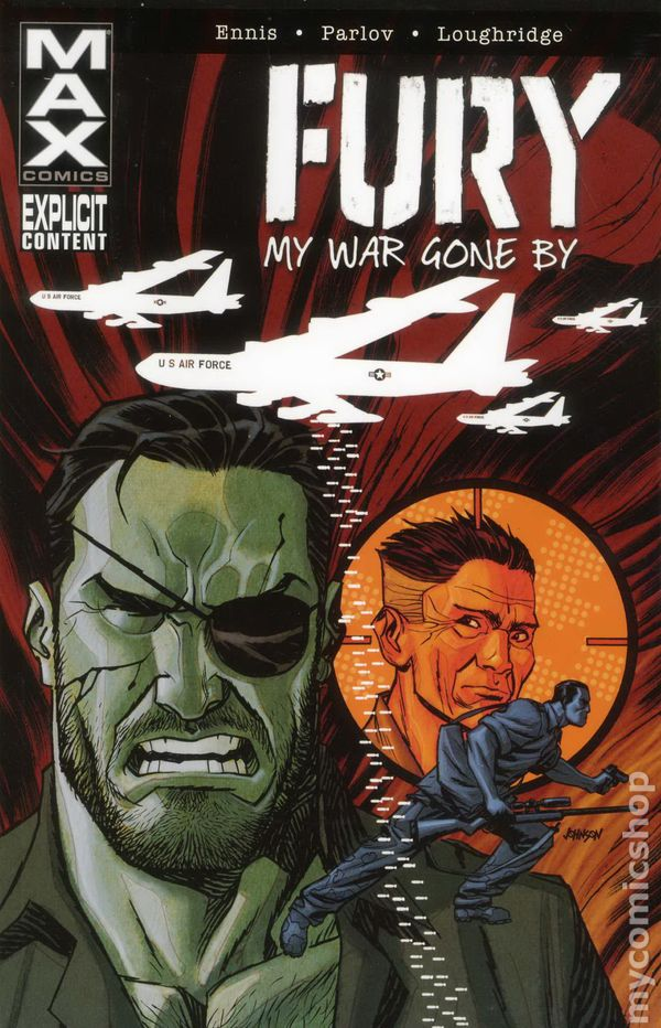 fury max  my war gone by tpb  2012