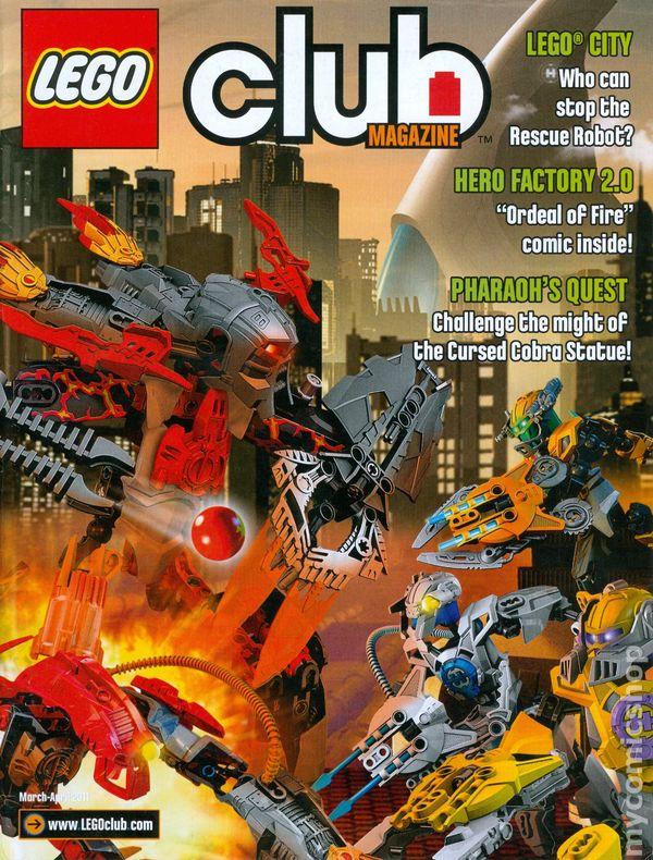 Club Magazine comic books