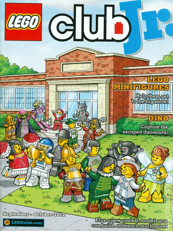 Lego Club Jr Magazine 2007 Comic Books 2012
