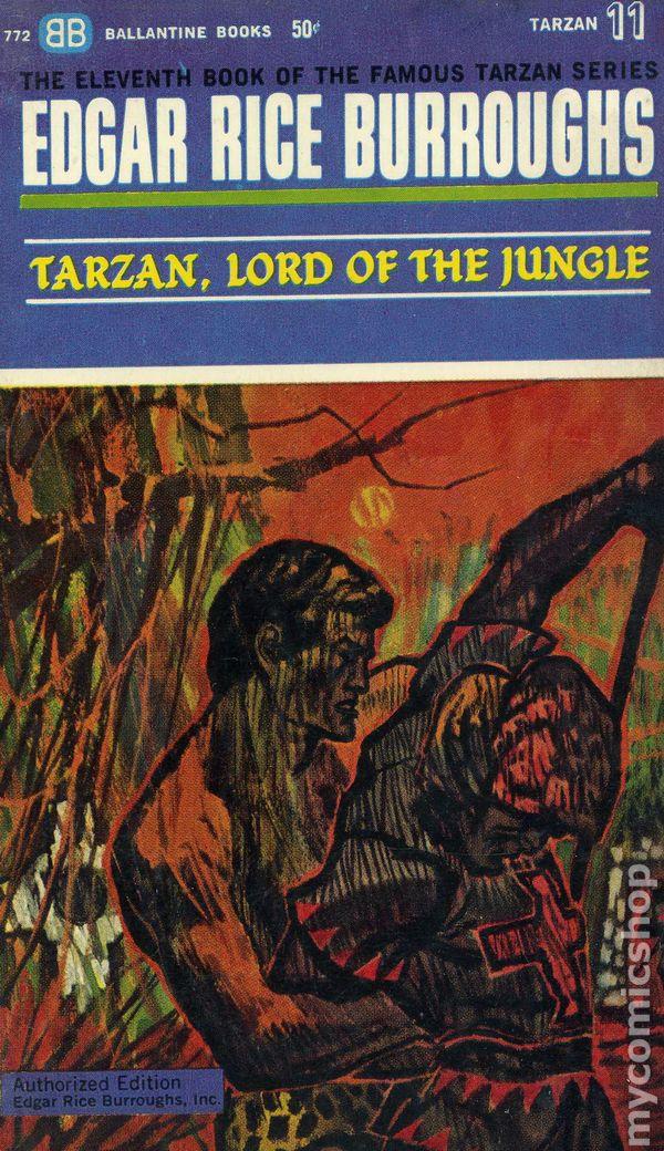 Tarzan PB (1963-1964 Ballantine Novel) The Famous Tarzan Series comic books