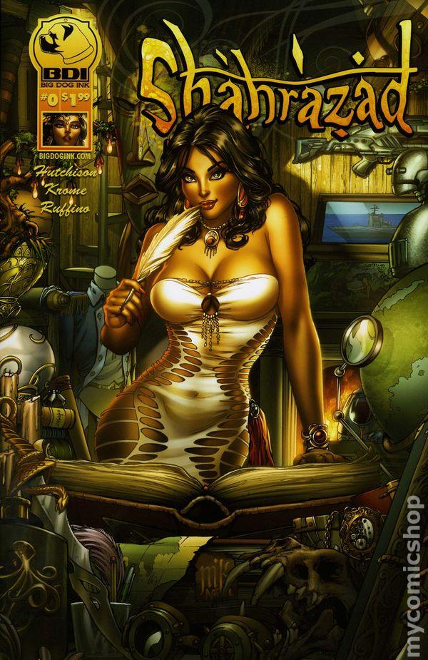 Shahrazad #1 B Oum Hutchison Krome Aspen BDI Comic Book NM th3