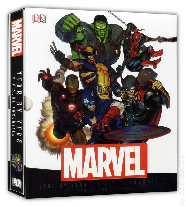 Marvel Year by Year A Visual History HC Updated and Expanded #1-1ST NM 2017